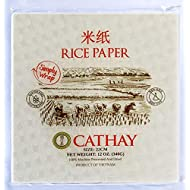 Cathay Spring Roll Rice Paper Wrappers (Square)
