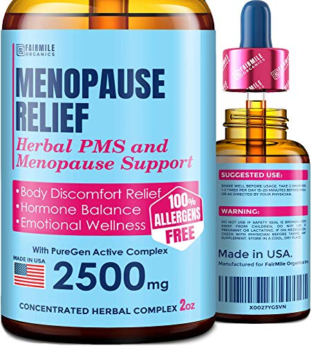 Menopause Relief Support Supplement BioAVAILABILITY