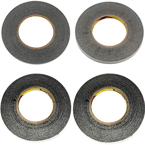4pcs/Bag Mix Size Long 50 Meters 1mm 2mm 3mm 4mm for 3M Double Sided Tape for ipad Mobile Phone Repair fix LCD Touch Screen