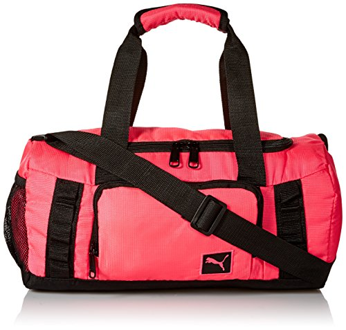 (PUMA Puma Throttle Jr. Duffel Accessory, Duffel Pink/Black, Youth)