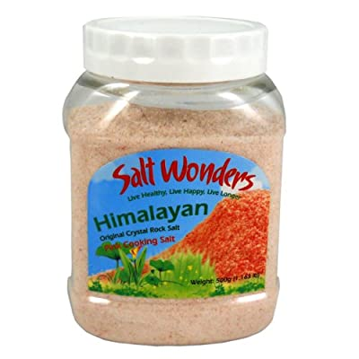 Indus Classic 500g Himalayan Natural White Organic Unrefined and Chemically Unprocessed Cooking Gourmet Edible Food Grade Dead Sea Salt with 84 Essential Trace Minerals