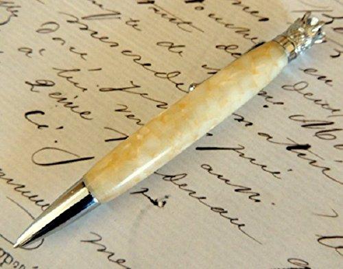 Crown Twist Pen - Crown Jewel Chrome Twist Pen in Lava Bright Crushed Seashell
