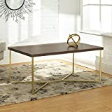 Big Wood Coffee Tables WE Furniture AZF42LUXDWG Coffe Table, 42
