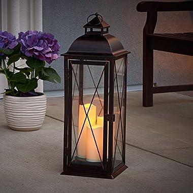 Smart Living STI Group Salerno 27  Triple LED Candle Lantern