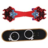 MonkeyJack Mini Skateboard & Ramp Accessories Set Kids Finger Board Game Party Toys #3