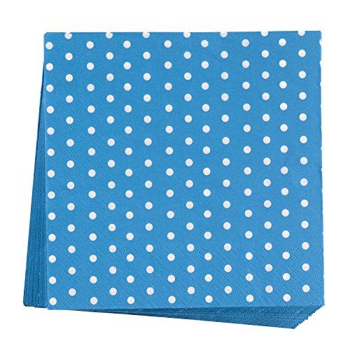 Neviti Carnival Collection Napkins - Blue Dots (20 -