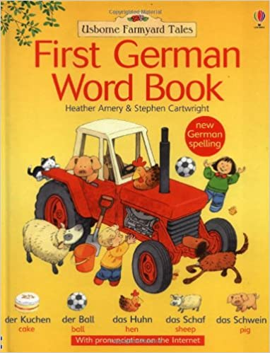 First German Word Book   Hc Il