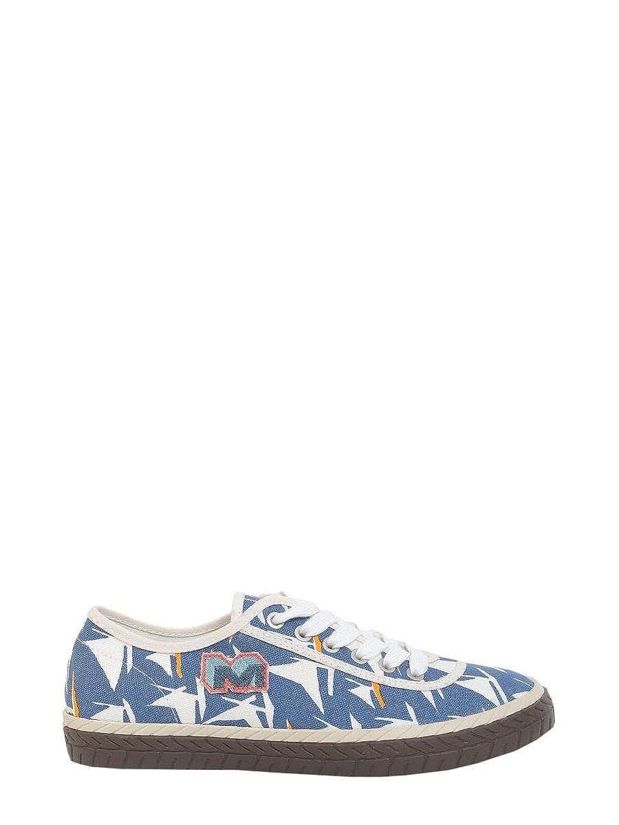 - Marni Men's M24WS0060S48698002S bluee Fabric Sneakers