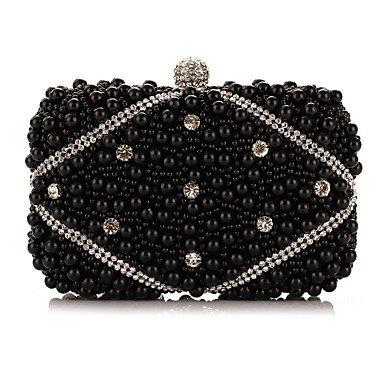 perles soirée mode de de sac artificielles L'oxydation femme des Black zircon 5BSgAFq