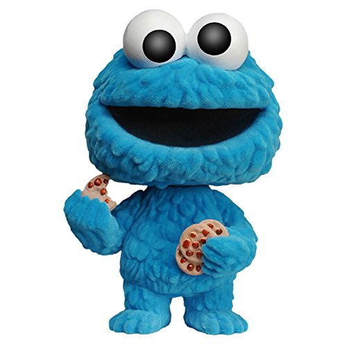 Funko - Figurine Sesame Street - Cookie Monster Flocked NYCC 2015 Pop 10cm - 0849803056