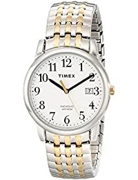 Mens T2P295 Easy Reader Dress Two-Tone Stainless Steel Expansion Band Watch