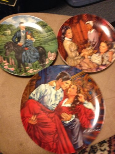 "Collector Plates - ""1985 Gone with the Wind Collection"" Plate #9 of 9 - The Finale ""Scarlett & Rhett"