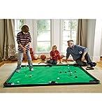 """Golf Pool Indoor Game, Carbon Fiber - Green - 78""""L x 57""""W"""