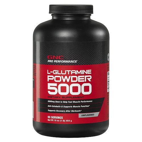 GNC Pro Performancereg L-Glutamine Powder - Unflavored 1 lbs.