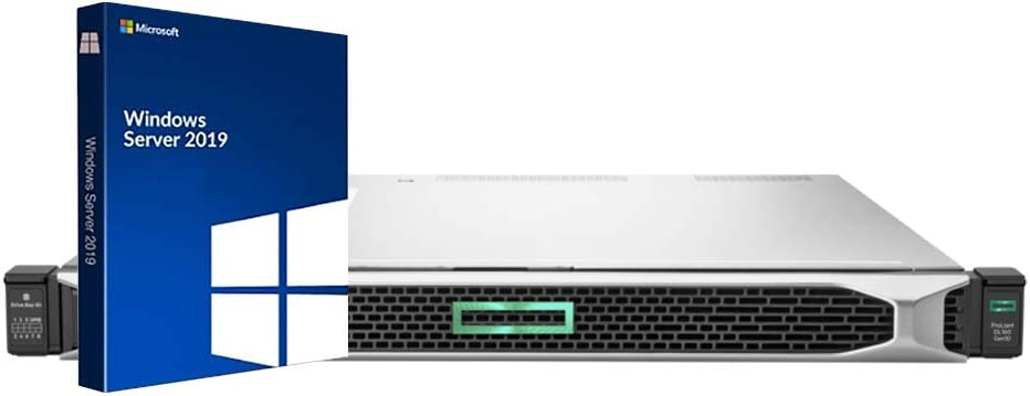 HP ProLiant DL160 Gen10 Rack Server Bundle with 2 x Intel Xeon Silver 4110, 64GB DDR4, 4TB SSD, RAID, Windows Server 2019