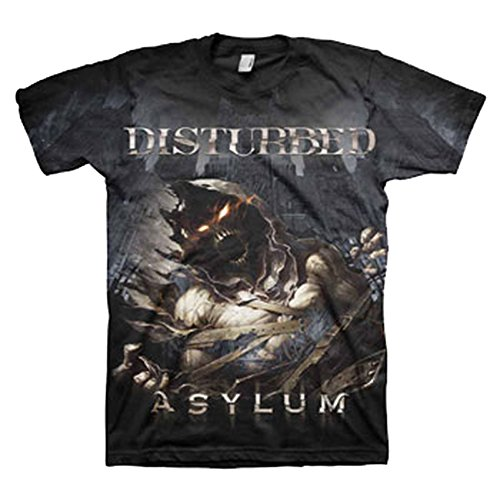 Disturbed Gloomy Night Asylum T-Shirt