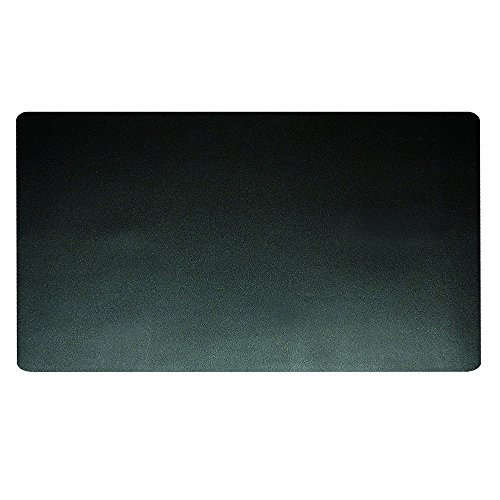 Artistic 20'' x 36'' Eco-Black Desk Pad with Microban, Black by Artistic