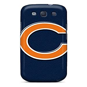 Shock Absorbent Hard Cell-phone Case For Samsung Galaxy S3 (GGn15664TCxb) Customized Colorful Chicago Bears Series