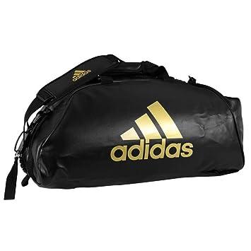 130b984997 Adidas - Sac de sport PU convertible en sac à dos Noir/or (Medium ...