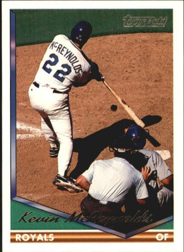 (1994 Topps Gold Baseball Card #218 Kevin McReynolds Mint)