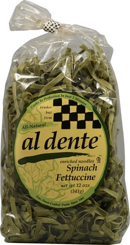 Al Dente Spinach Fettuccine Pasta -- 12 oz - 2 pc