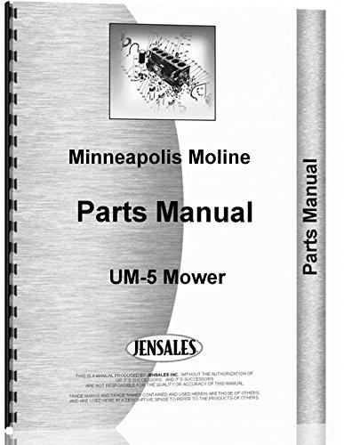 Minneapolis Moline UM-5cortacésped partes Manual