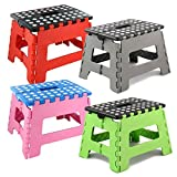 ASAB Folding Step Stool, Plastic, Small - 150 Kg Capacity