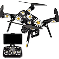 MightySkins Protective Vinyl Skin Decal for 3DR Solo Drone Quadcopter wrap cover sticker skins Daisies