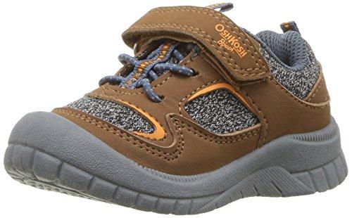 Price comparison product image OshKosh B'Gosh Boys' Gorlomi Sneaker, Brown, 6 M US Toddler