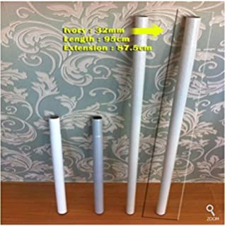 Extension Pipe For Prince Hanger (32mm, Ivory)   For 4 Vertical Pole Product