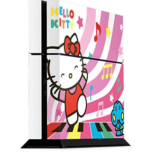 Skinit Decal Gaming Skin for PS4 Console - Officially Licensed Sanrio Hello Kitty Dancing Notes Design