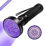 UV Blacklight Flashlight, Hinmay Super Bright 100 LED # 1...