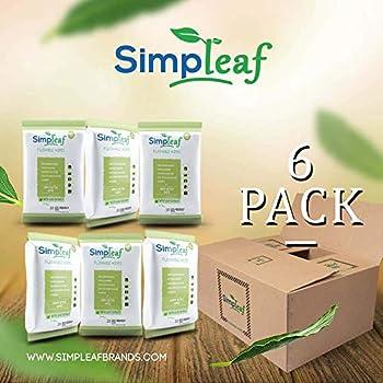 Amazon Com Simpleaf Flushable Wipes Eco Friendly Thick