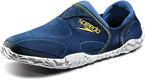 Speedo Women's Offshore Amphibious Pull-On Water Shoe,Insignia Blue/White,5 M US