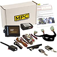 MPC Complete 2-Way LCD Remote Start Keyless Entry Kit w/T-Harness For 2017-2018 Kia Sportage - Firmware Preloaded