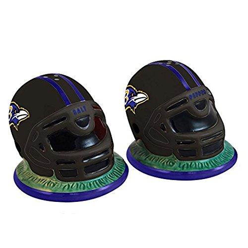 NFL Baltimore Ravens Helmet Salt and Pepper Shakers