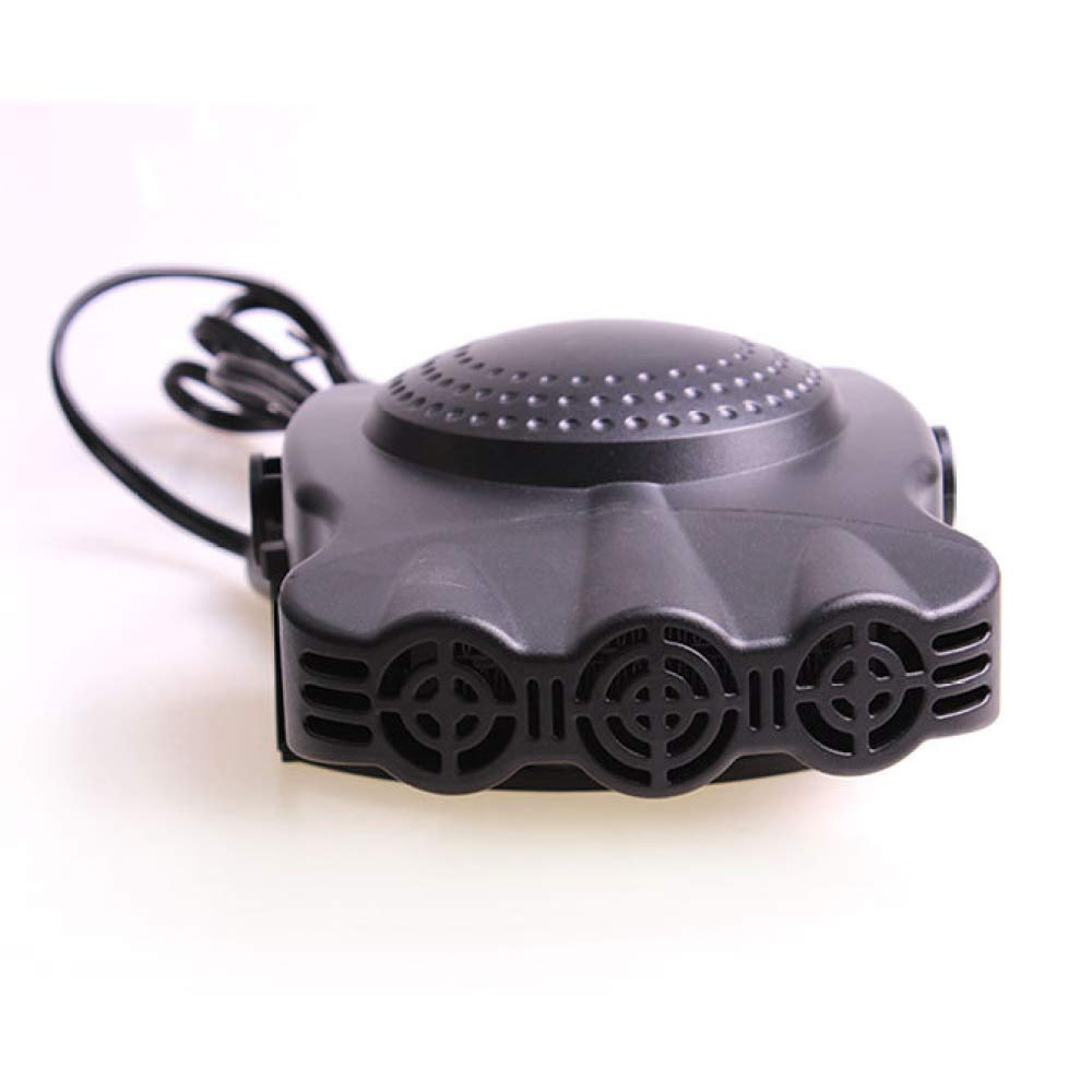 Three Holes Black Heating Cooling Fan Defroster Defogger 150W Car 12V Car Heater