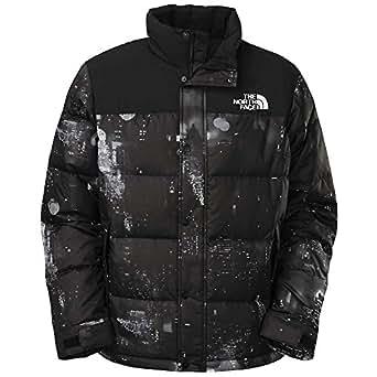 The North Face Men's Nuptse Heights Jacket, TNF BLACK CITY LIGHTS PRINT, L