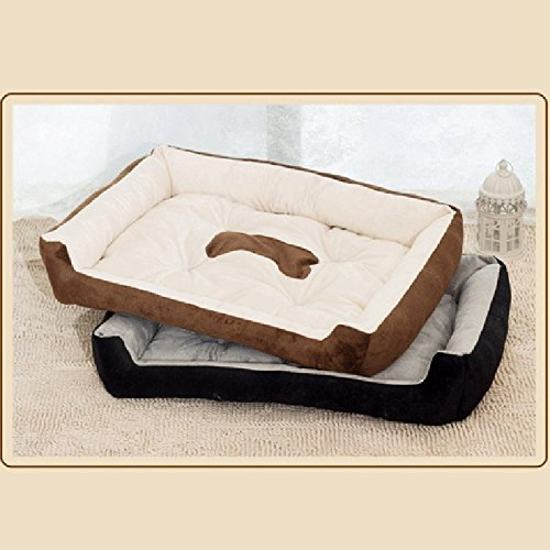 Teng Peng Pet Pet Pet Cats Bed Dog-Style-Style - Memory Foam di Lusso con Coperta per Calore ed Offerta Security-Pets Sleep Zone Morbido Cuscinetto per Dormire (colore   2, Dimensioni   M) e98a84