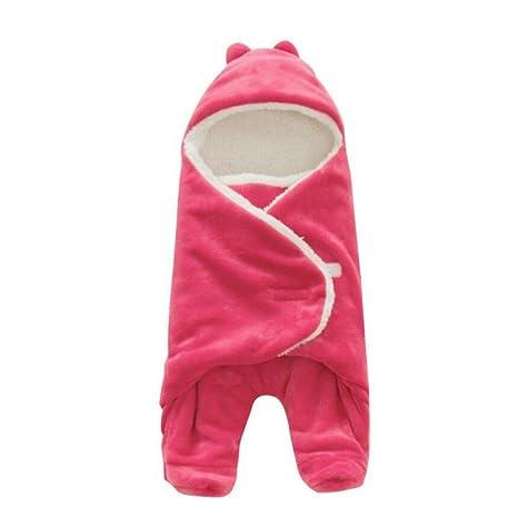 LINAG – Saco de Dormir para bebé, Todo el año neugeboren Swaddle Separate Patas Unidas
