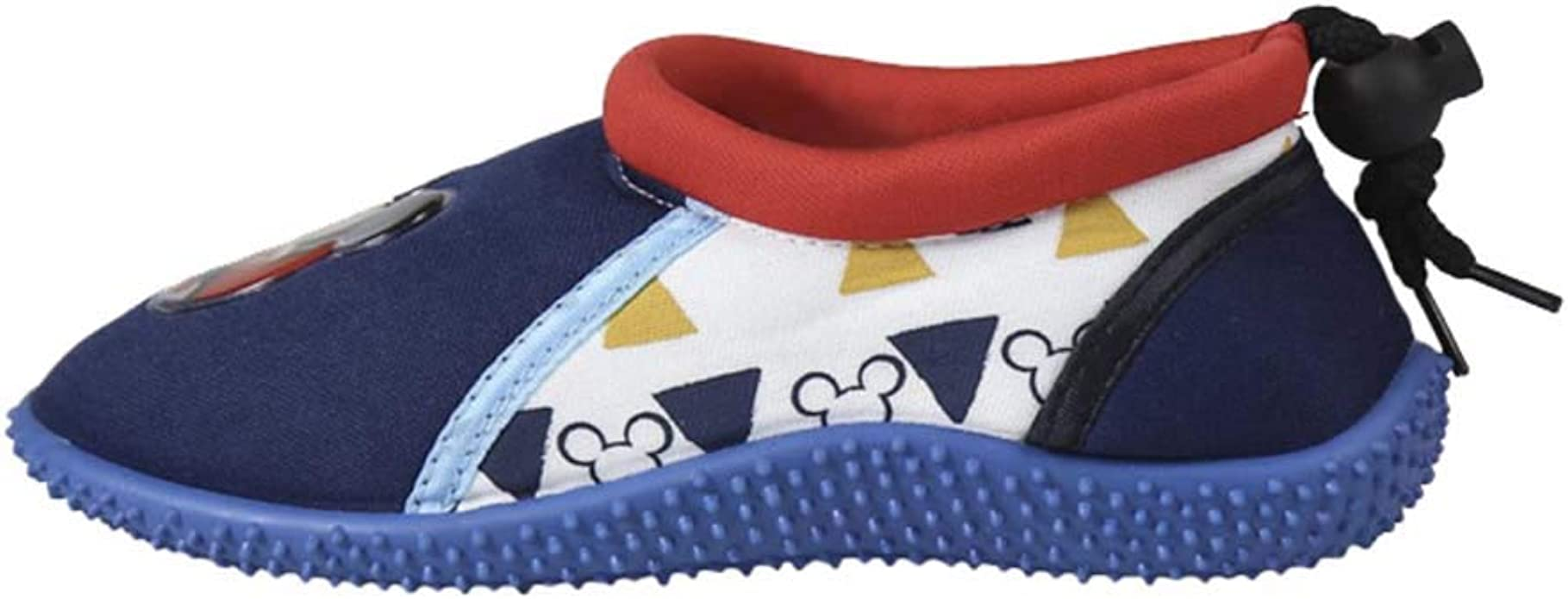 Prot/ègent Les Pieds des Enfants Cordon de Serrage Ajustable /à larri/ère pour Un Maintien Chaussures Aquatiques Mickey