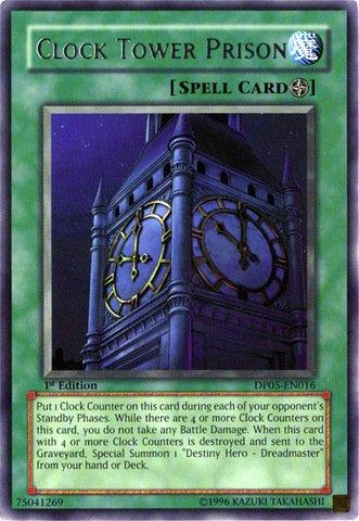 Yu-Gi-Oh! - Clock Tower Prison (DP05-EN016) - Duelist Pack 5 Aster Phoenix - Unlimited Edition - Rare