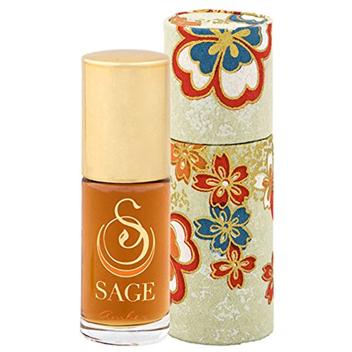Sage Amber Roll-on Perfume Oil - Unique Luxury Gift Box - Natural Beauty - Niche - Travel - Aromatherapy - Earthy - Spicy - Sensual - Blood Orange - Amber - Vanilla - Musk - Sage Glass Bronze