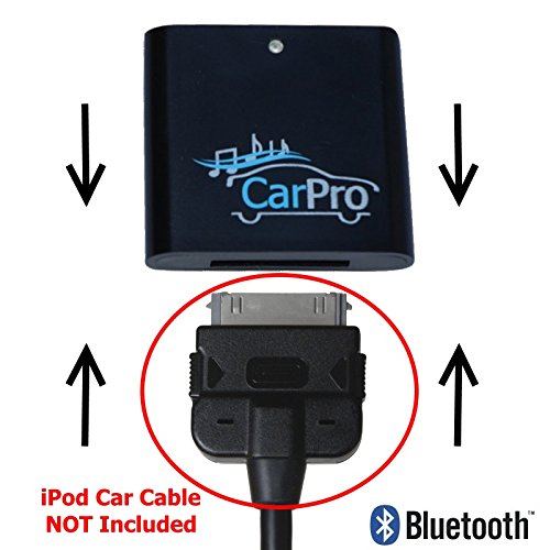 Bluetooth Adapter for 2011 or Earlier Mercedes iPod iPhone 30 Pin Cable - CoolStream CarPro by Coolstream (Image #2)