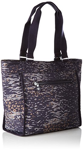 Women��s New Kipling Multicolour Camo Water Shopper Tote S PvdqdRw