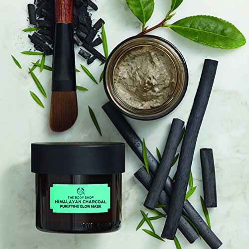 51Ck7pOcwrL The Body Shop Himalayan Charcoal Purifying Glow Mask, Expert Facial Mask, 100% Vegan, 3.0 Oz.