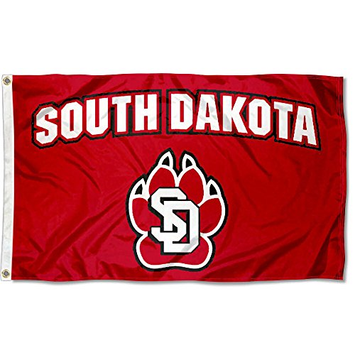 College Flags and Banners Co. South Dakota Coyotes 3x5 Flag
