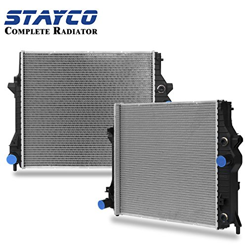 CU13148 Radiator Replacement for Lincoln LS Jaguar S-Type Replacement ford Thunderbird 2002 2003 2004 2005 2006 2007 2008 3.0L V6/4.2L V8