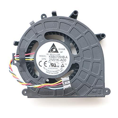 Micro Desktop CPU Fan for Dell Optiplex 3020 3020m 9020 9020m 3040 3040M 5040M 7040M Micro Desktop System Cooling Fan