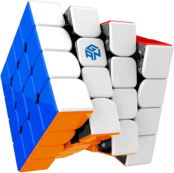 GAN 460M 460 M Magnetic 4x4x4 Stickerless Speed Cube Puzzle Ships USPS from USA